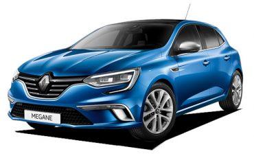 Renault Megane o similar – Grupo E